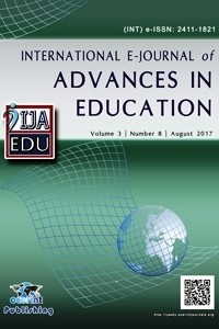 International E-Journal of Advances in Education